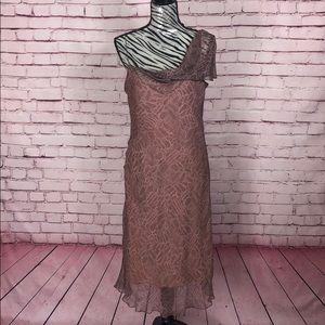 100% Silk Max Studio Dress Size Large - NWT